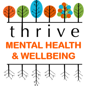 Mental Health and Wellbeing Thrive Logo